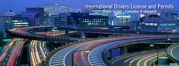 Your international drivers license can be delivered tomorrow!